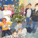 Zdobení vánočního stromečku a mikulášská nadílka