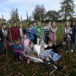 Podzimní úklid okolí školy
